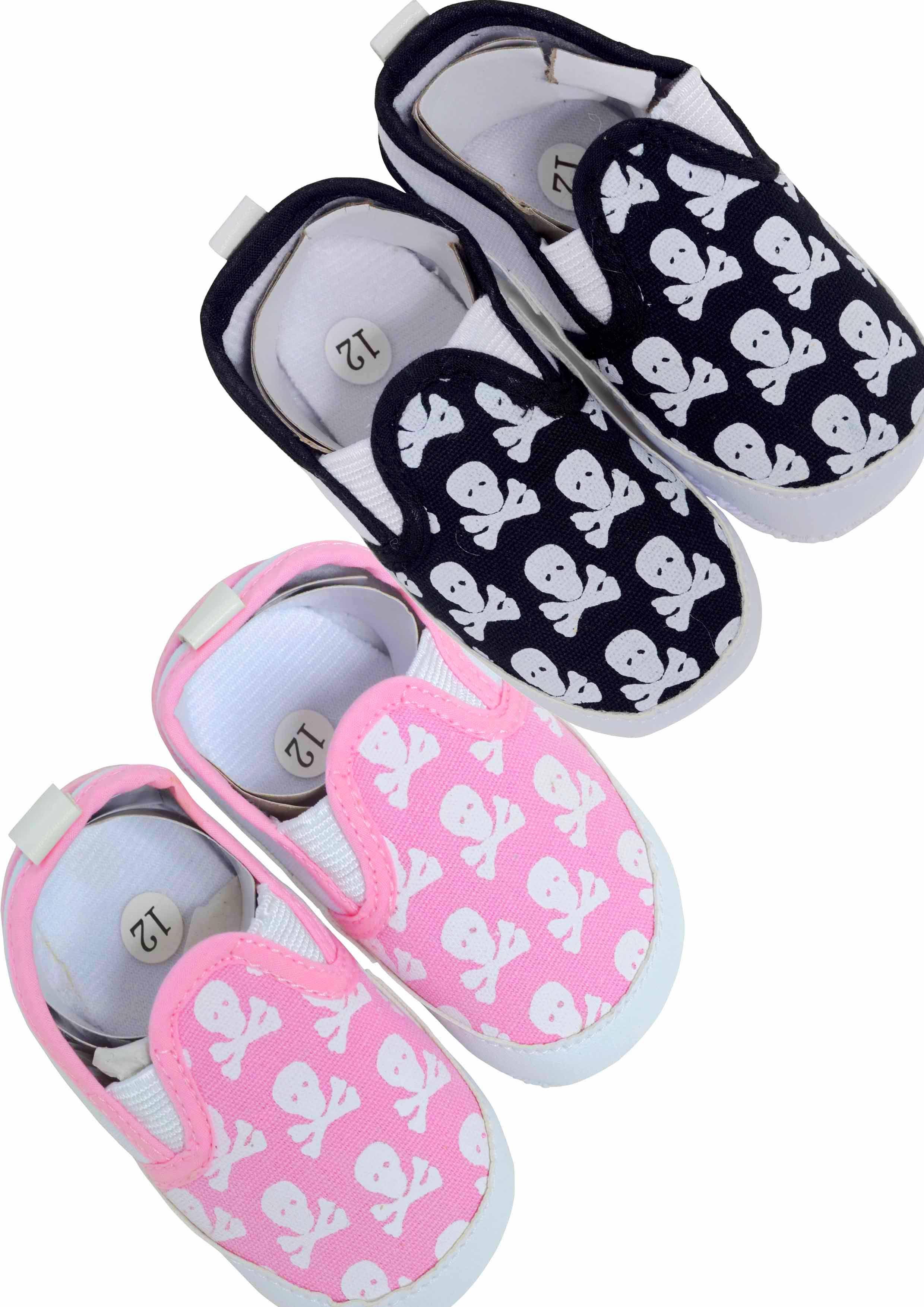 Skull & Crossbones Cool Baby Shoes