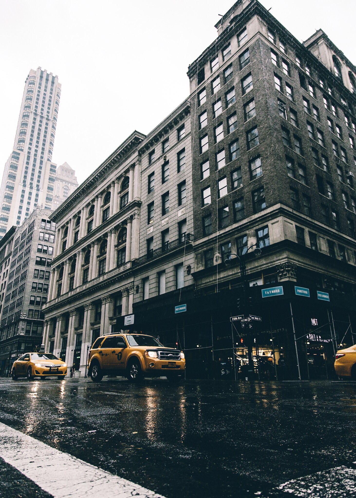 rain in new york  getting wet instagram new york skyline