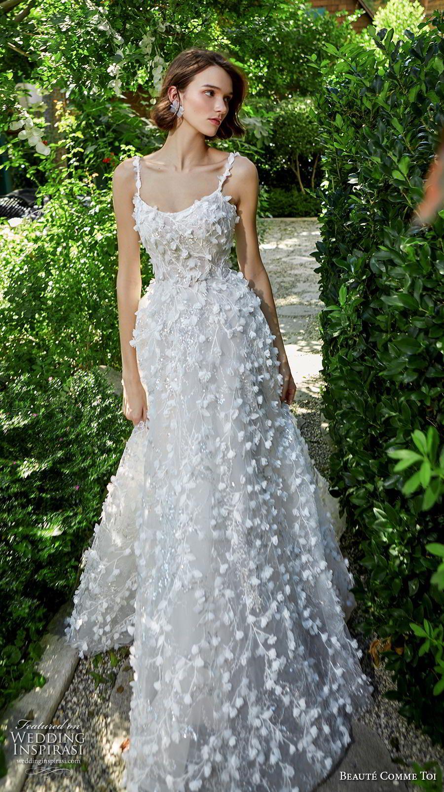 "Beauté Comme Toi Fall/Winter 2020 Wedding Dresses — ""Kiss"