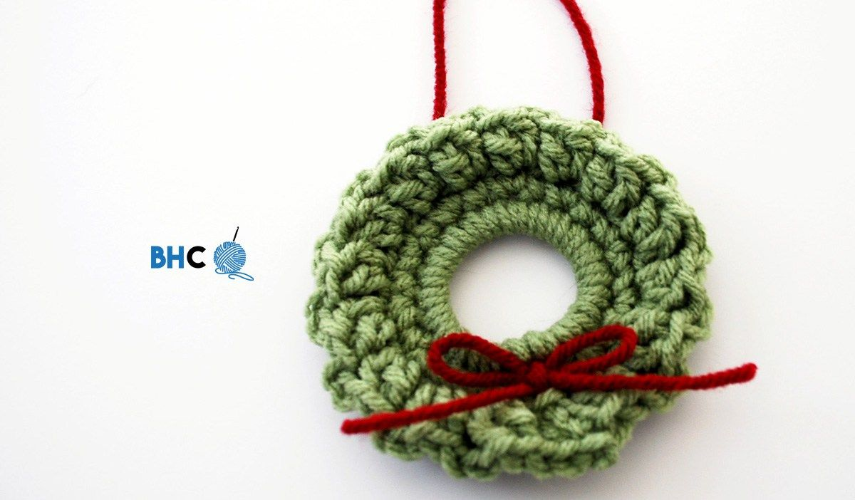 Photo of Mini Crochet Wreath – B.Hooked Crochet & Knitting