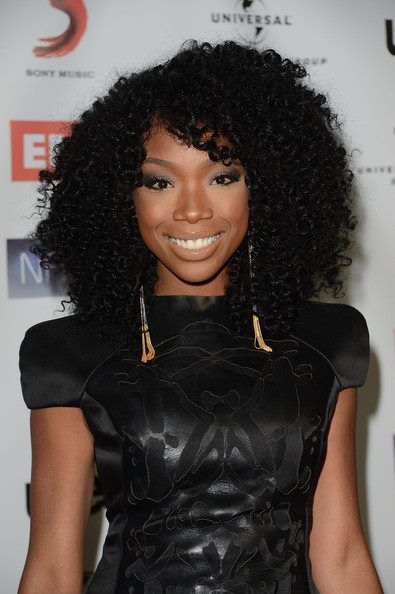 Brandy Norwood I Love B Rocka Coiffure Cheveux Cheveux Afro