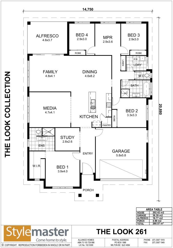 Baybreeze 27 Traditional Family Dining Floor Plans Garage Entry