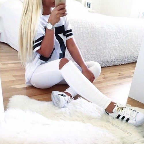 Image via We Heart It adidas fashion fashionable style