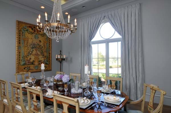 Residence In Alexandria Louisiana French Inspired Interior Design By New Orleans Designer Stacey Serro