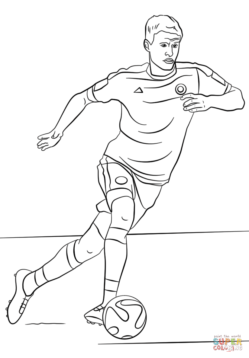 soccer coloring pages neymar skills - photo#2