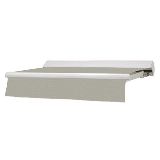 Store Banne Manuel Baleare Semi Coffre Aluminium Larg 4m X
