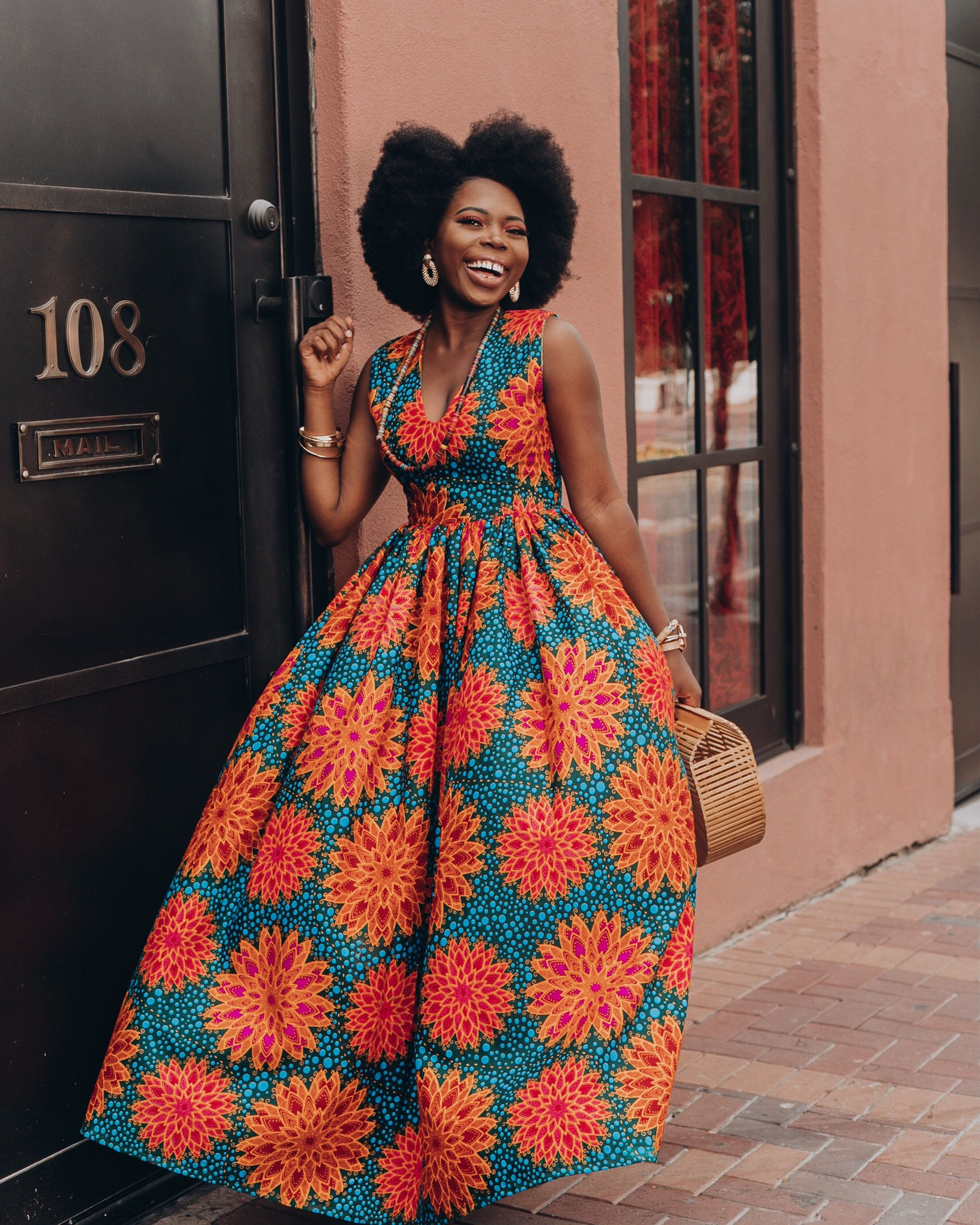 Fashion: Ankara Top African Clothing African Skirt African Print