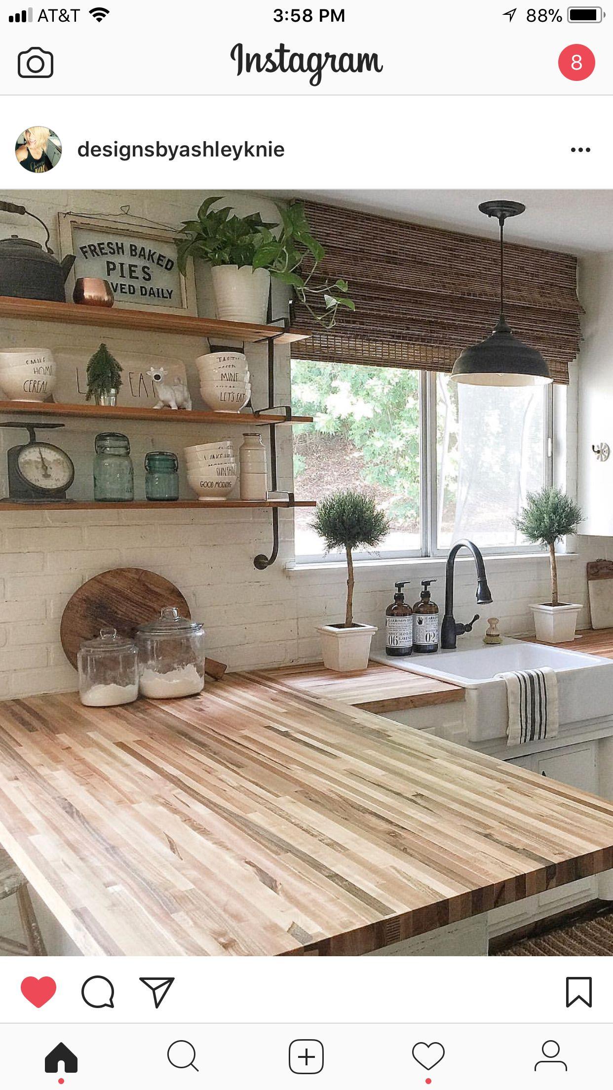 Pin von Adéla auf kuchyně | Pinterest | Küche, Landhausstil und ...