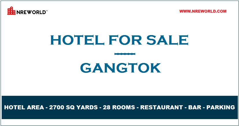 #Hotel 28 Rooms for Sale in Gangtok - Sikkim - India.   For Further more details kindly Email us at - nreworld@nreworld.com  Visit our website - www.nreworld.com  #hotelforsale #gangtok #Sikkim #Realestateinvestment #commercial #nreworld #hotelsale #hotelinvestment #hotels