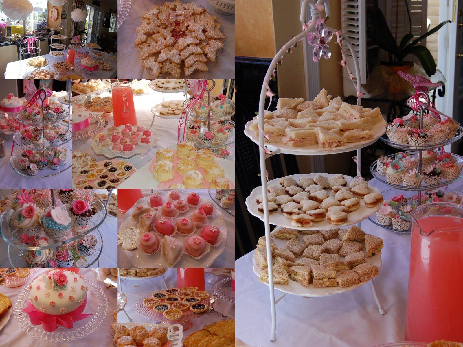 finger food ideas for bridal shower%0A Girls tea party food ideas       Neat food ideas   Pinterest   Girls tea  party  Tea parties and Food ideas