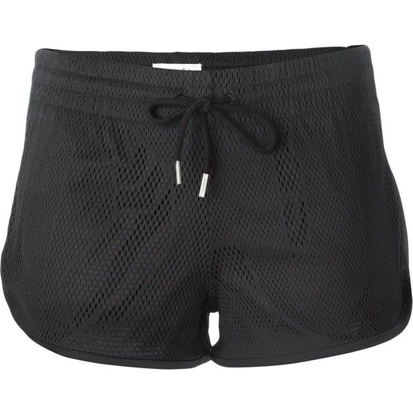 dbd1af758a09 Adidas Originals perforated track shorts (185 BRL) ❤ liked on Polyvore  featuring shorts