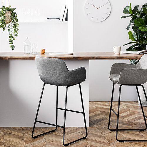 Pleasant Delaware Light Grey Counter Stool Kitchen In 2019 Inzonedesignstudio Interior Chair Design Inzonedesignstudiocom