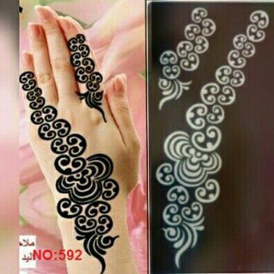 Pin By مملكتي لاستكرات الحنا On Henna Stencils Henna Stencils Henna Tattoo Stencils Henna Designs Hand