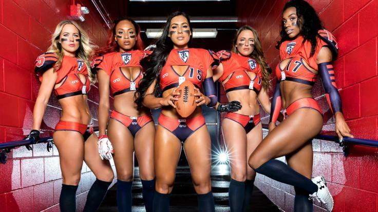 99640ec92 Saiba como surgiu e porque a Liga de Futebol Americano Feminino de Lingerie  faz tanto sucesso