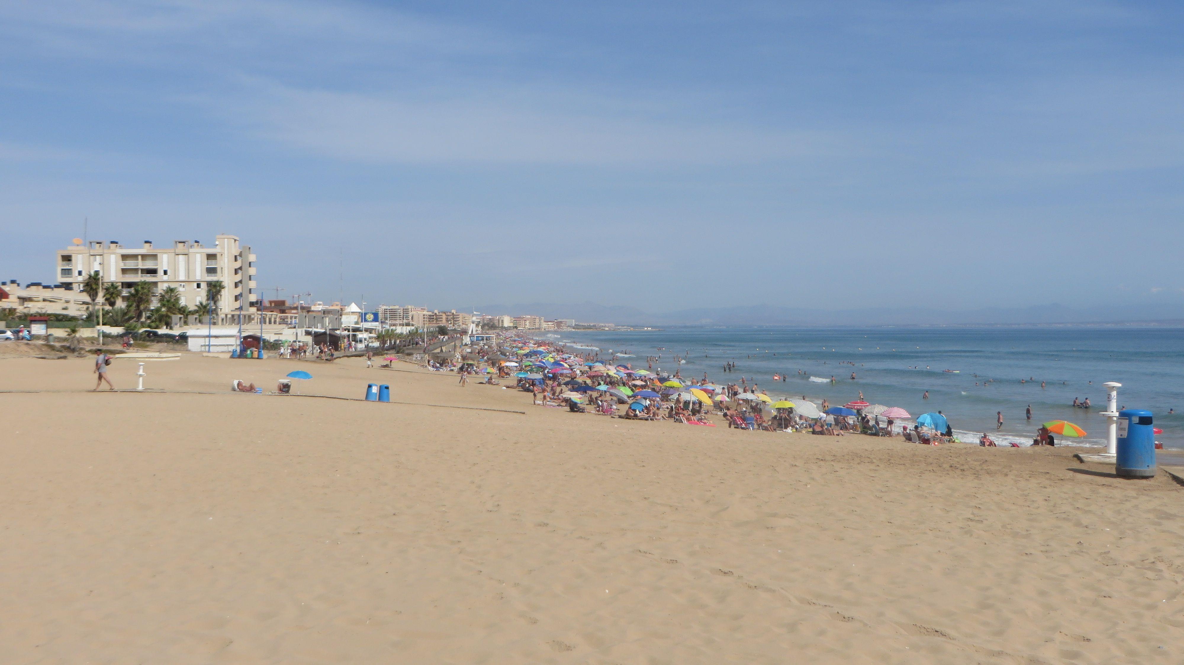 The Sand Dunes Of La Mata Beach
