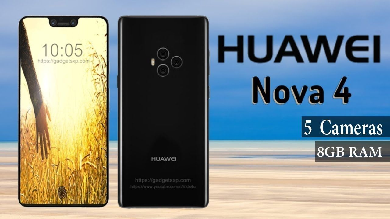 Huawei Nova 4 With 8gb Ram 5 Cameras First Look Wolle Kaufen