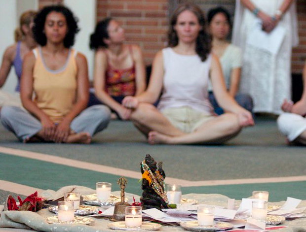 Yoga and meditation retreats to ring in the New Year.