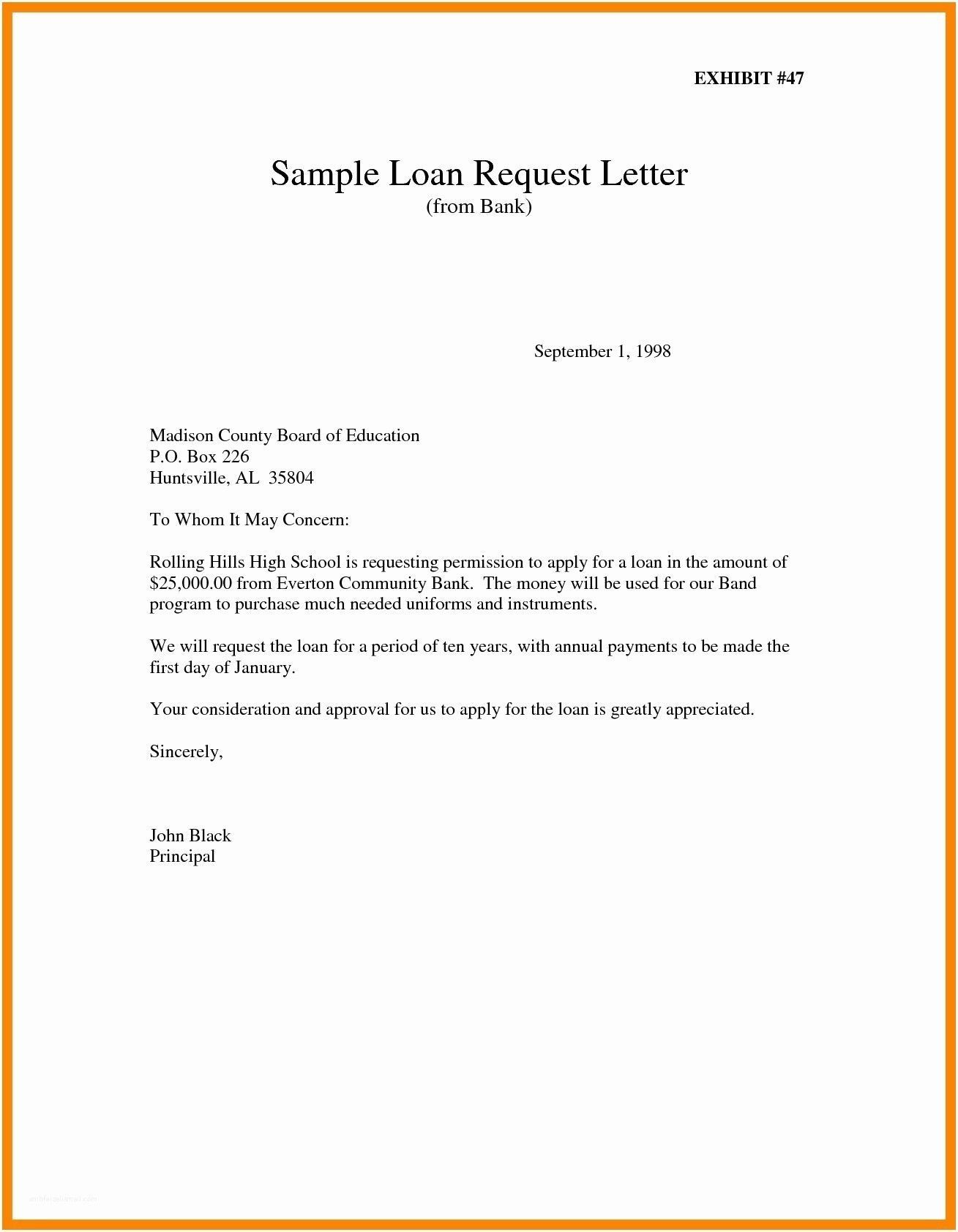Sample Of Permission Letter To Travel In