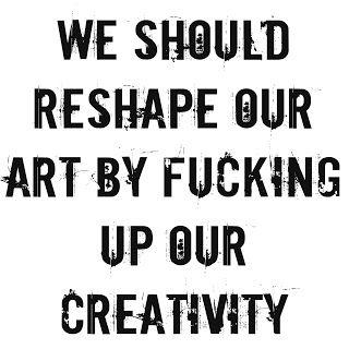 Mijn T-shirt-prints: Reshape Our Art