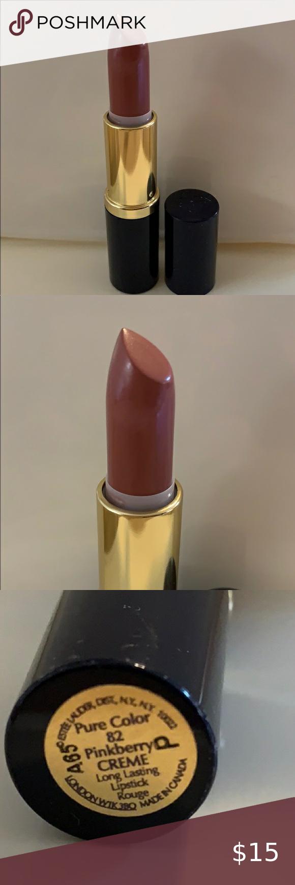 Estée Lauder Lipstick Pinkberry Cream in 2020 Estee