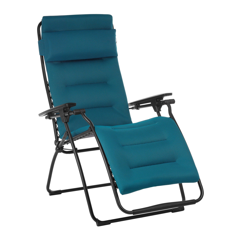 Relax De Jardin En Acier Futura Air Comfort Coral Blue En 2020 Acier Fauteuil Relax Et Fauteuil
