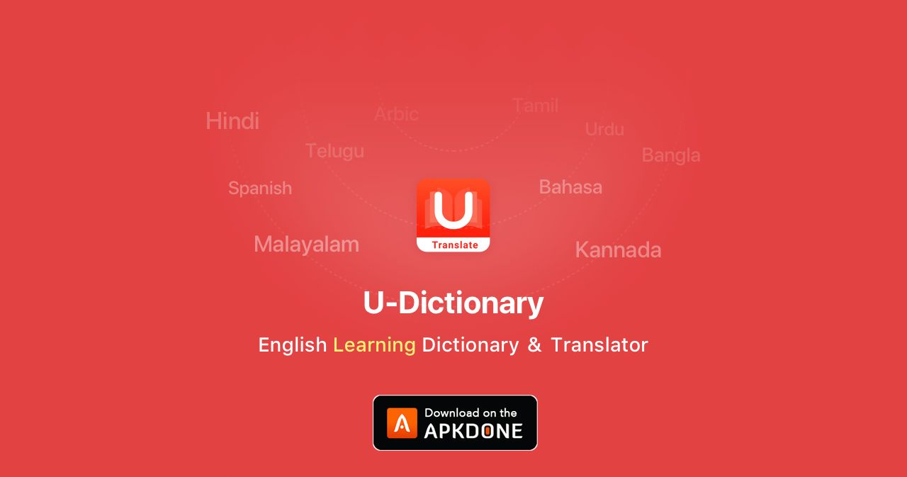 Foto de la aplicación U-Dictionary