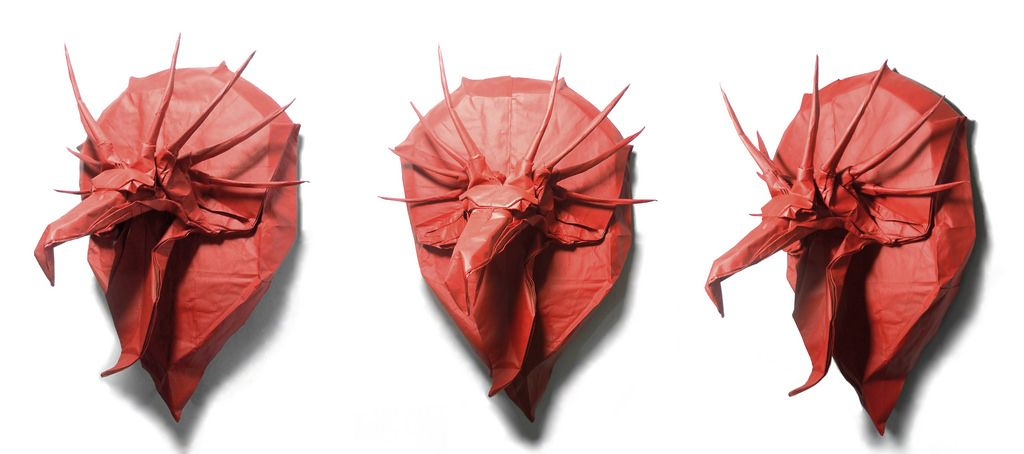 The Origami Forum • View topic - [Sort of a Tutorial] Dragon ... | 454x1024