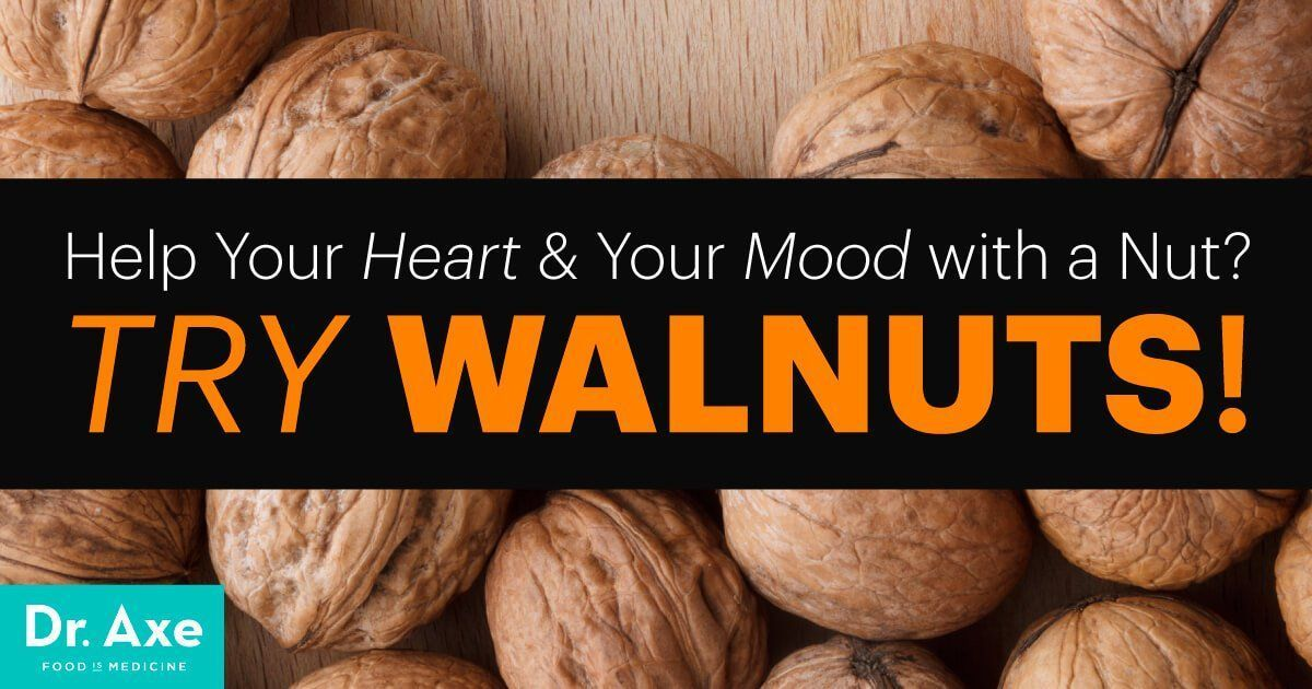 Walnuts Nutrition Helps Both Your Heart & Mood #walnutsnutrition Walnuts nutrition includes high levels of omega-3s. Among the impressive benefits, they can improve your mood, support heart health and fight heart disease. #walnutsnutrition Walnuts Nutrition Helps Both Your Heart & Mood #walnutsnutrition Walnuts nutrition includes high levels of omega-3s. Among the impressive benefits, they can improve your mood, support heart health and fight heart disease. #walnutsnutrition
