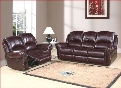 Enjoyable Abbyson Living Reclining Sofa Set Lexington Ab 55Ch 8811 Brg Gmtry Best Dining Table And Chair Ideas Images Gmtryco