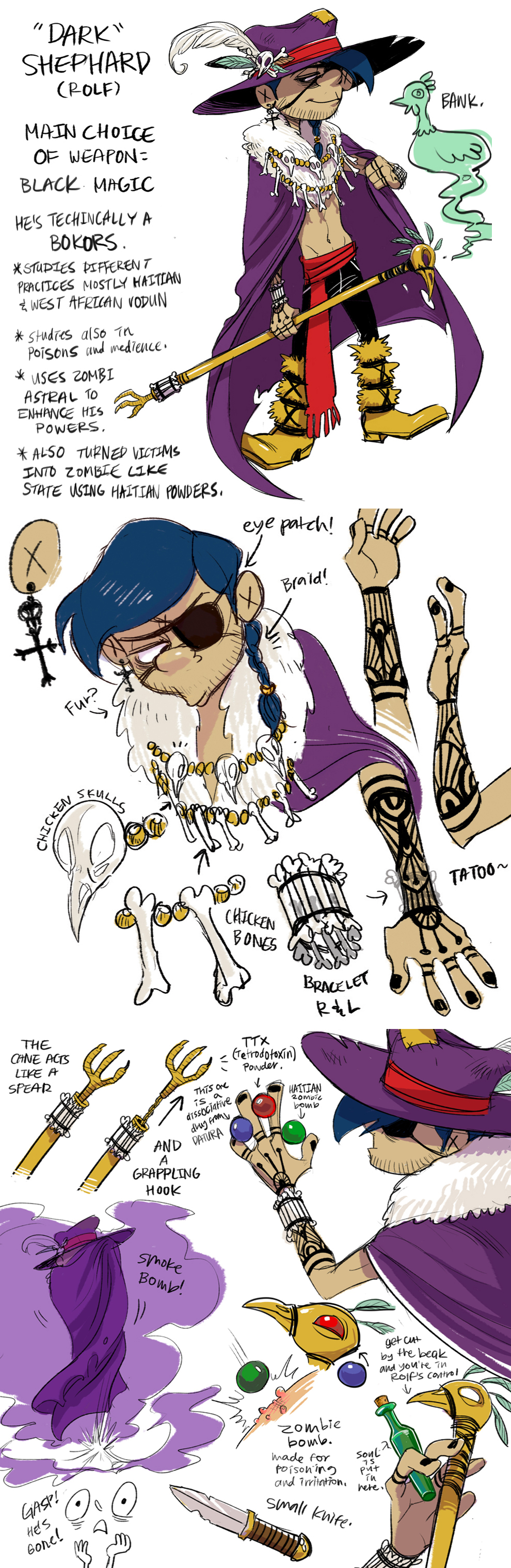 Rolf Official Character Design Post By C2ndy2c1d Ed Edd N Eddy