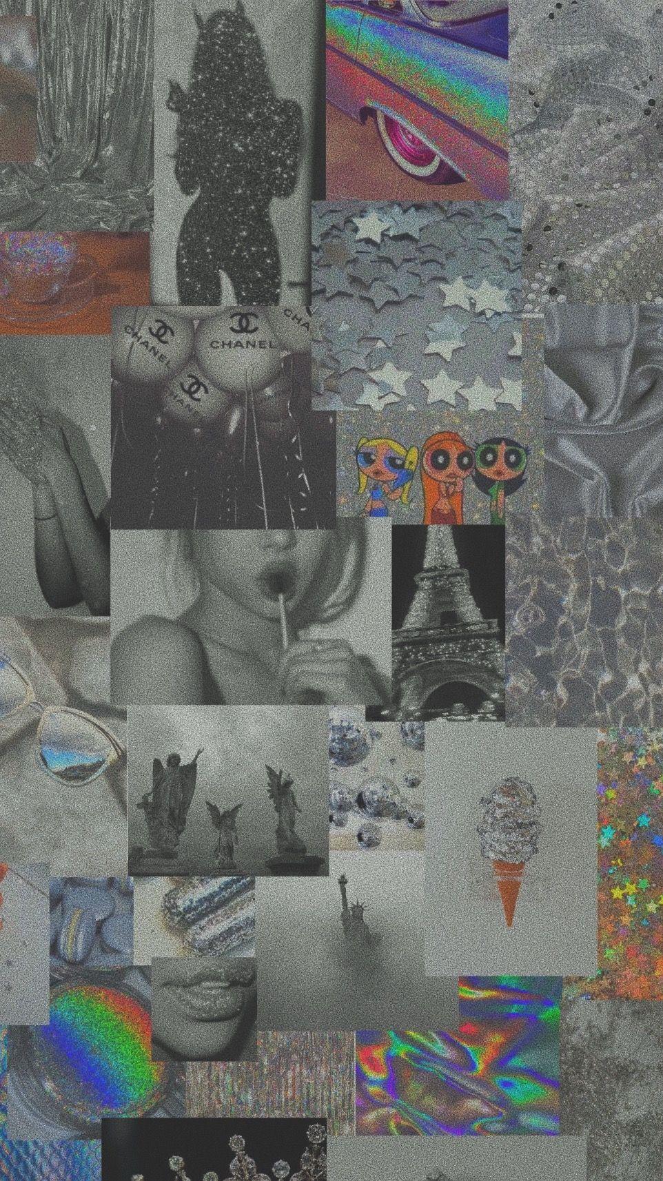 Silver Aesthetic Wallpaper Iphone Wallpaper Tumblr Aesthetic Aesthetic Iphone Wallpaper Pretty Wallpaper Iphone