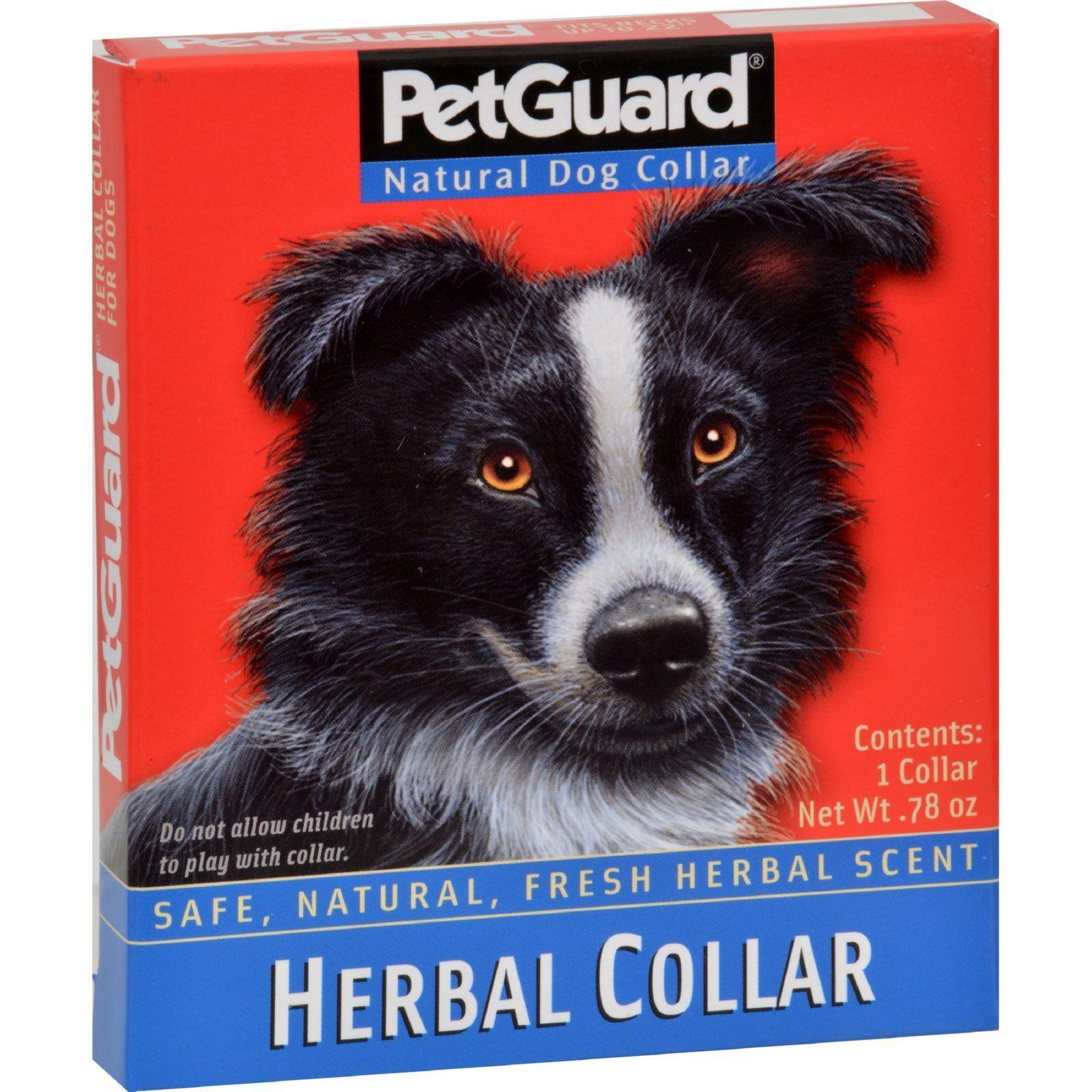 PetGuard Herbal Collar For Dogs Natural dog, Pet