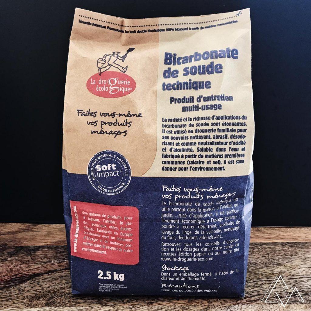 Bicarbonate De Soude 2 5kg Sac Liquide Vaisselle Bicarbonate De