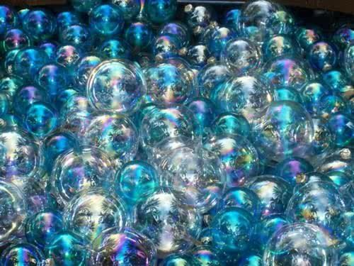 A sea of bubbles