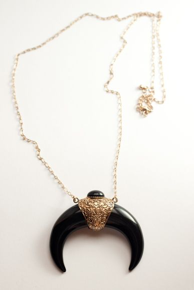 Warhorn Long Necklace S$10 from: O'ORO Accessories