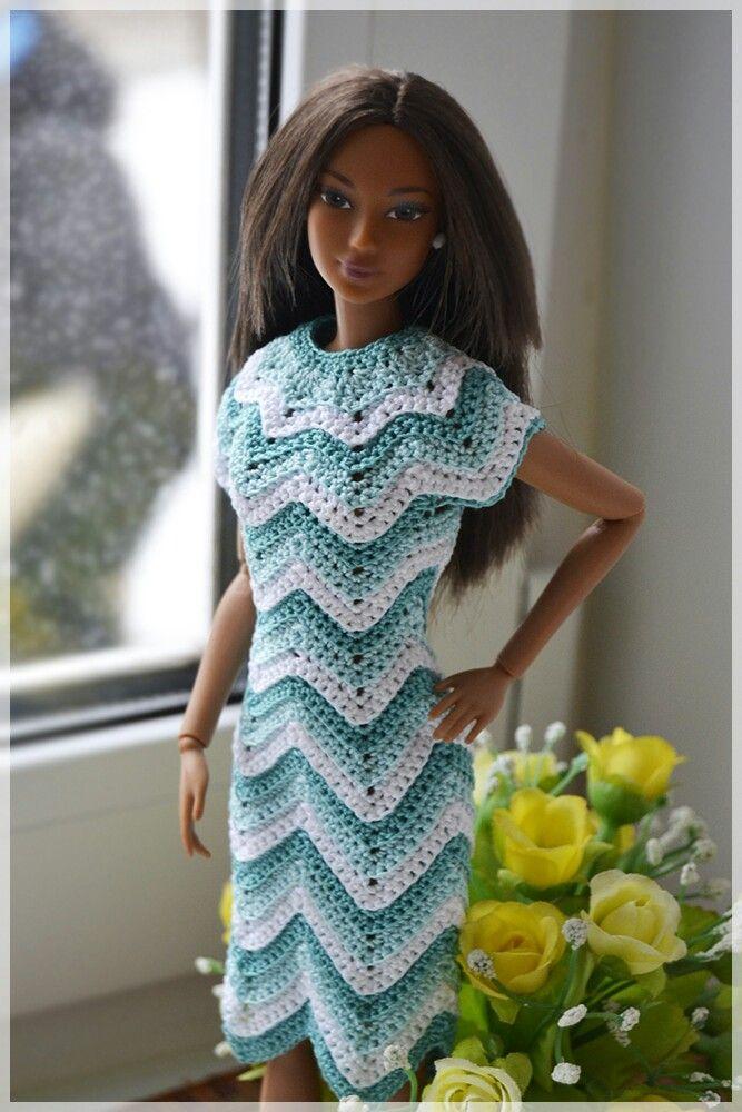 Inspiration only   Barbie   Pinterest   Puppenkleidung, Barbie und ...