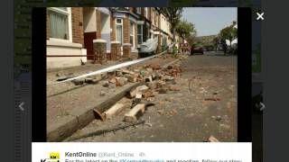 earh quake in the uk - YouTube