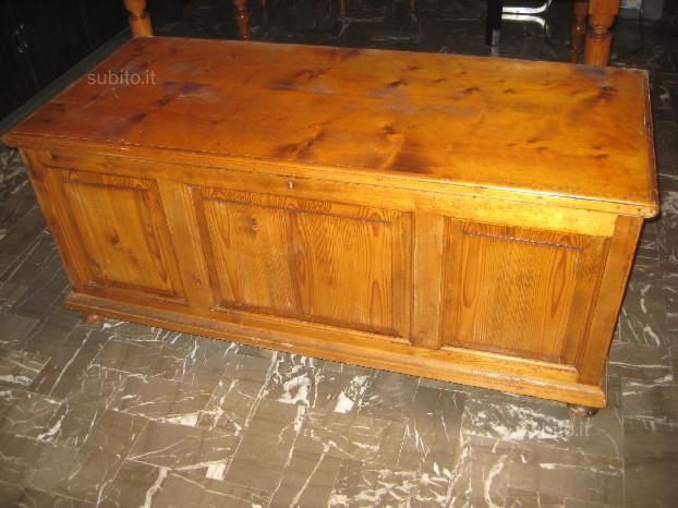 Cassapanca in legno fine 800 - Arredamento e Casalinghi In vendita a ...