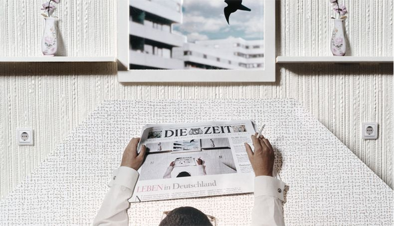 Jochen Klein - UK based photographer Published in Die Zeit (Germany 2003)  C-type photograph