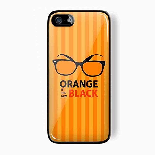 Alex Vause Glasses Orange Is the New Black for Iphone and Samsung Galaxy (iPhone 5/5s black)