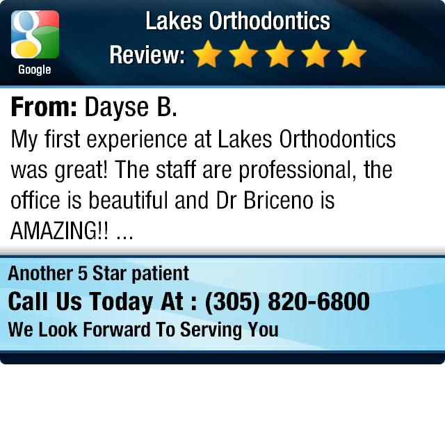 My first experience at Lakes Orthodontics was great! The staff are professional, the...