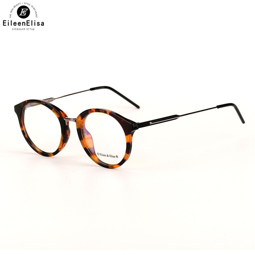 EE 2017 Women Vintage Frame Eyewear Retro Optical Glasses Frame For ...