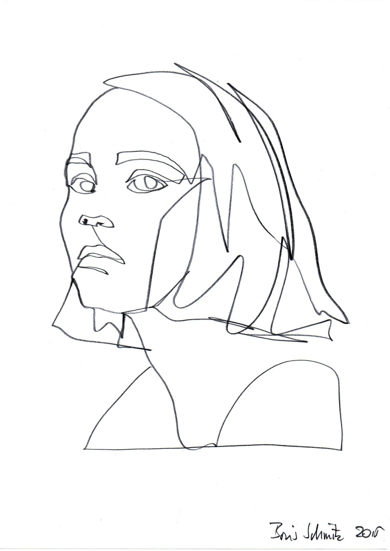 Line Art Body : I chose this these illustration because they re artistic