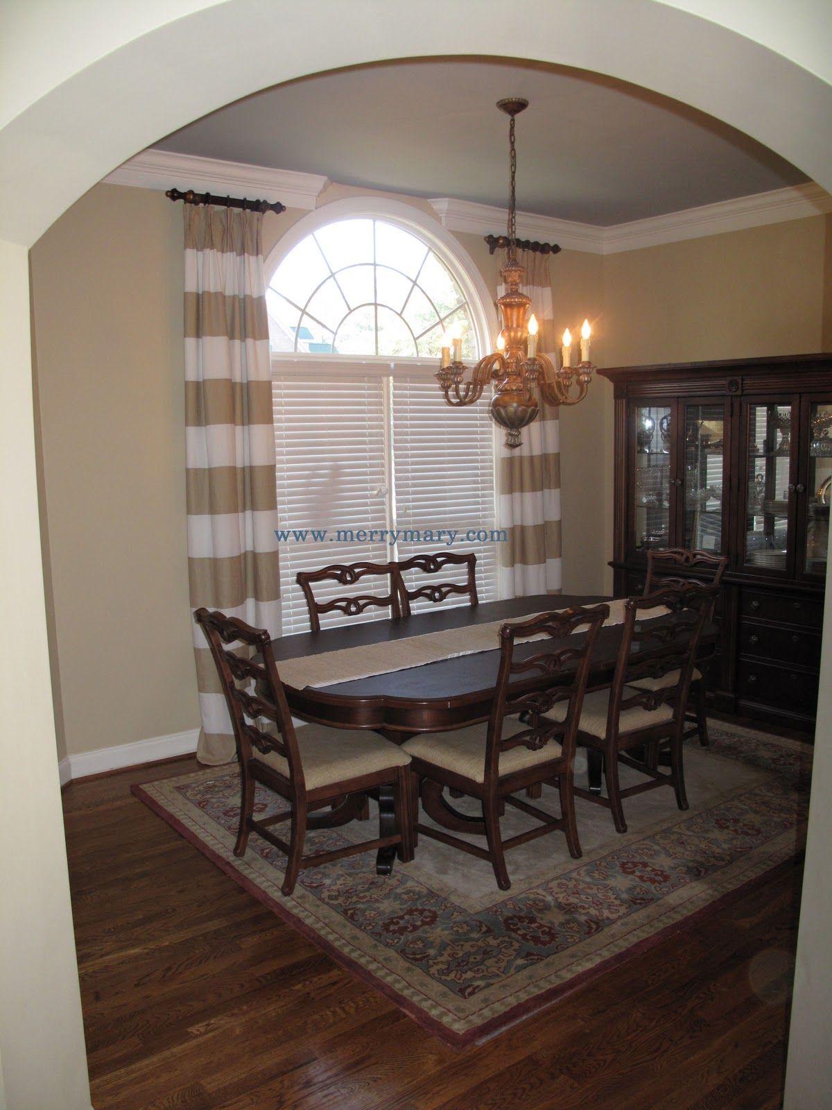 Ideas U0026 Tips: Inspiring Horizontal Striped Curtains For Interior Design  Ideas
