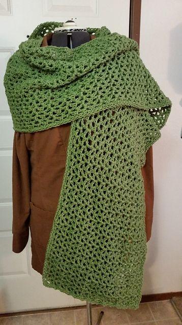 free prayer shawl crochet pattern | difficulty level easy free ...