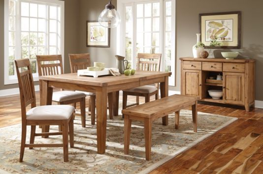 Levin Furniture Copper Mountain Annabella Dining Table