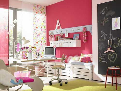 trendy girls bedroom interior decorating ideas-1 | for the home