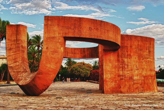 Monumento a la Tolerancia, Eduardo Chillida | Flickr - Photo Sharing!