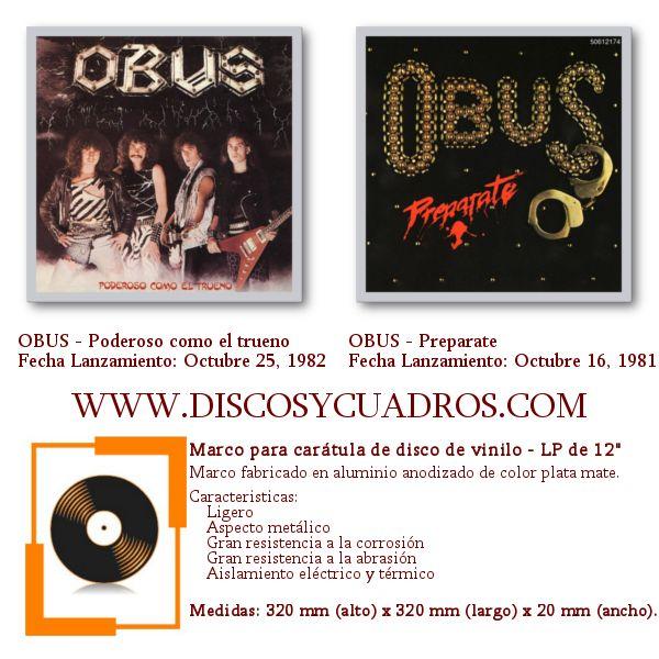 Enmarcar discos de vinilo / Decorar discos de vinilo / Obus ...