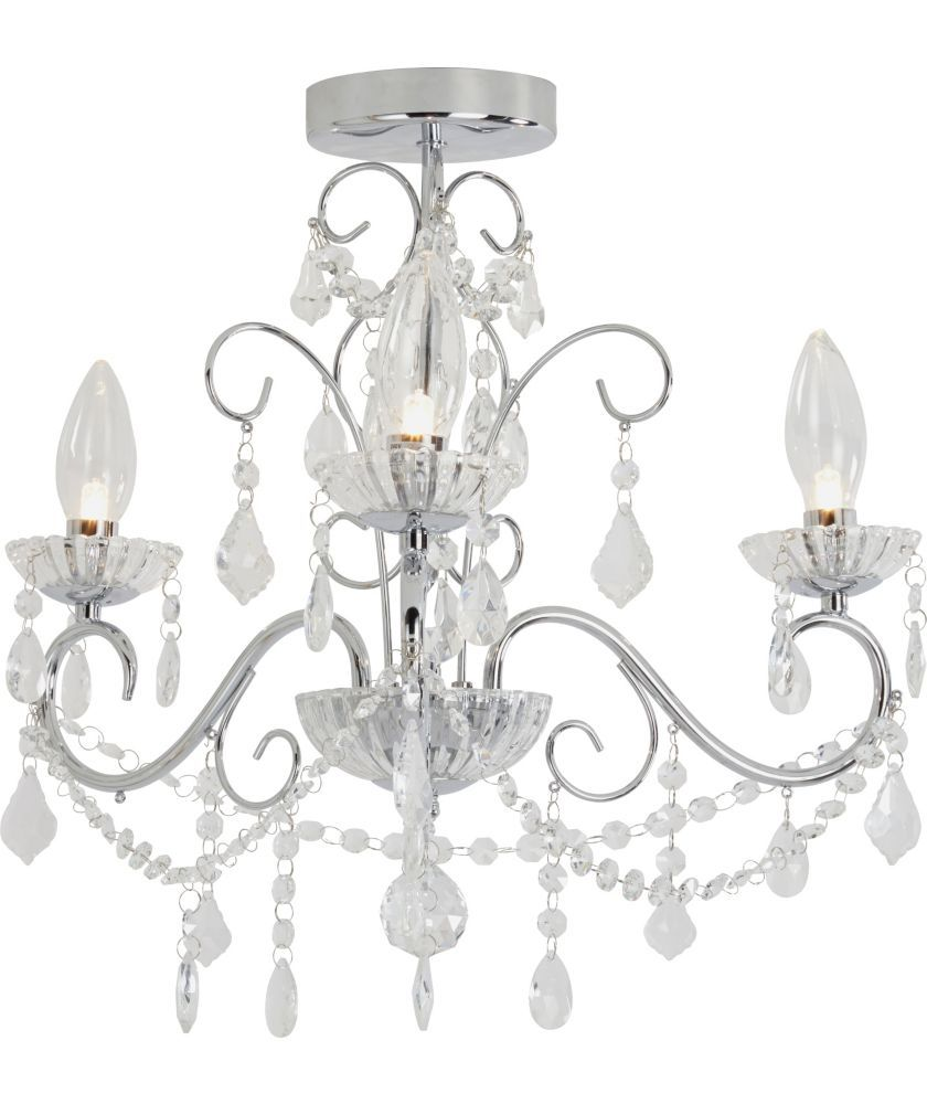 Buy Heart Of House Spetses Chandelier Bathroom Fitting Chrome At Argos Co Uk Your Onli